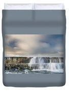 Jetty Spillover Waterfall Duvet Cover