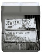 Jew Town In Cochin Duvet Cover