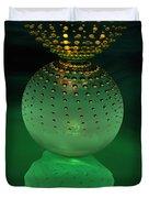 Jeweled Astrophytum  Duvet Cover