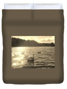 Jewels Of The Lake Duvet Cover
