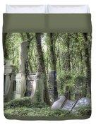 Jewish Cemetery Weissensee Berlin Duvet Cover