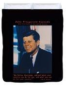 Jfk John F Kennedy Duvet Cover by Official White House Photo