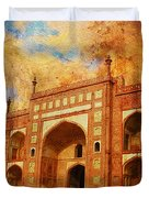 Jhangir Tomb Duvet Cover by Catf