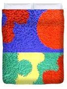Jigsaw Pieces Duvet Cover by Patrick J Murphy