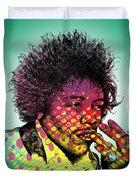 Jimmie Hendrix  Duvet Cover