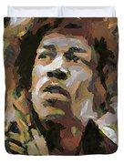 Jimmy Hendrix Duvet Cover