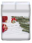 Jingle Bells Duvet Cover