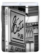Jo Cats Pub Duvet Cover