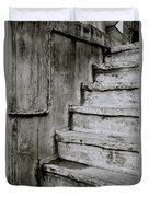 The Monochrome Steps Duvet Cover