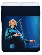 Joe Cocker Painting Duvet Cover