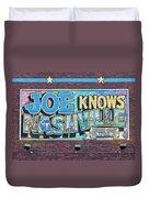 Joe Knows Nashville Duvet Cover
