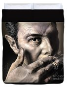 Joe Strummer-burning Lights Duvet Cover