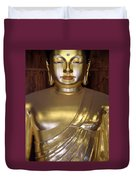 Jogyesa Buddha Duvet Cover by Jean Hall
