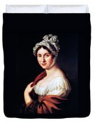 Johanna Wagner (1774-1848) Duvet Cover