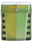 John Deere Grill Duvet Cover by Susan Candelario