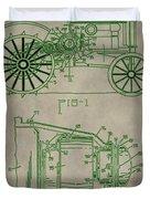 John Deere Patent Duvet Cover