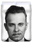 John Dillinger Mugshot Duvet Cover