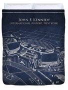 John F Kennedy International Airport Duvet Cover