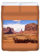 John Ford Point - Monument Valley - Arizona Duvet Cover