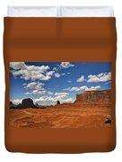 John Ford Point - Monument Valley  Duvet Cover