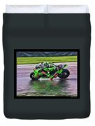 John Hopkins 2005 Motogp Red Bull Suzuki Duvet Cover