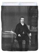 John Jacob Astor Duvet Cover