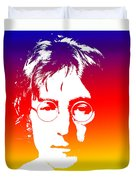 John Lennon The Legend Duvet Cover