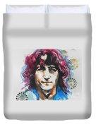John Lennon..up Close Duvet Cover