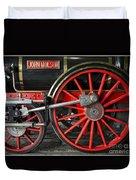 John Molson Steam Train Locomotive Duvet Cover