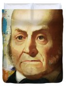 John Quincy Adams Duvet Cover