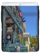 John Rutledge House Duvet Cover