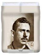 John Steinbeck American Author Circa 1938 Duvet Cover