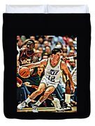 John Stockton Duvet Cover
