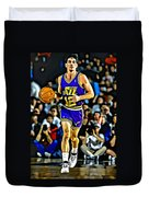 John Stockton Portrait Duvet Cover