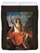 John The Baptist Duvet Cover