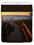Join Us For The Sundown Duvet Cover