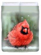 Jolly Old ....... Cardinal  Duvet Cover