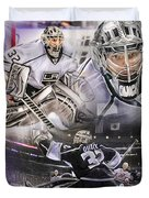 Jonathan Quick Collage Duvet Cover