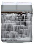 Jones Mill Run Dam Up Close 2 Duvet Cover