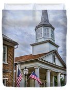 Jonesboro Methodist Church Duvet Cover