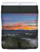 Jonsrud Viewpoint Sunrise Duvet Cover