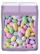 Jordan Almonds - Weddings - Candy Shop - Square Duvet Cover