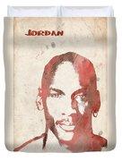 Jordan Duvet Cover