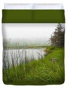 Jordan Pond In Acadia National Park Duvet Cover