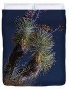 Joshua Tree By Moonlight Duvet Cover