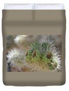 Joshua Tree Cholla Cactus Duvet Cover