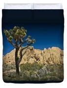 Joshua Tree In Joshua Tree National Park No. 323 Duvet Cover