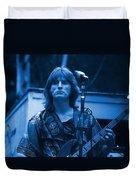 Journey #2 Enhanced In Blue Duvet Cover