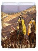 Journey Of The Magi Duvet Cover