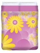Joy Of Spring Duvet Cover